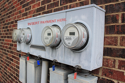 electric money meters